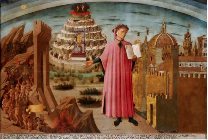 700 years since Dante's death